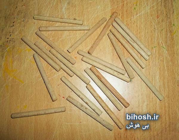 ایده ساختن آباژور چوبی زیبا