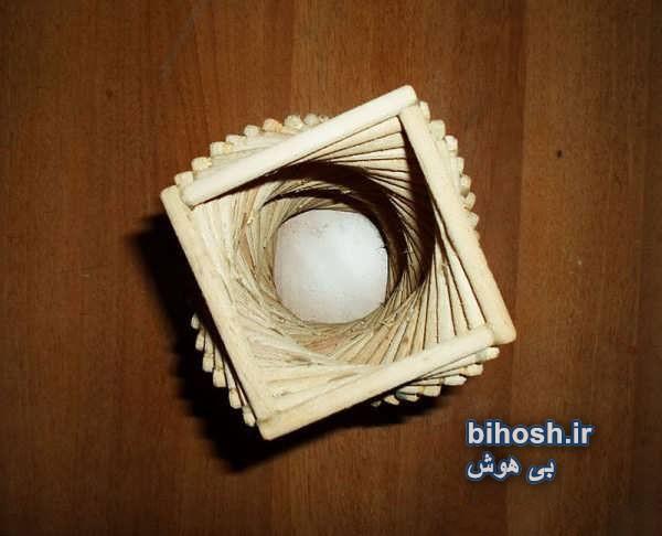 ساختن آباژور چوبی زیبا