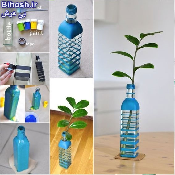 ایده های جذاب و ساده برای ساخت گلدان تزئینی در خانه