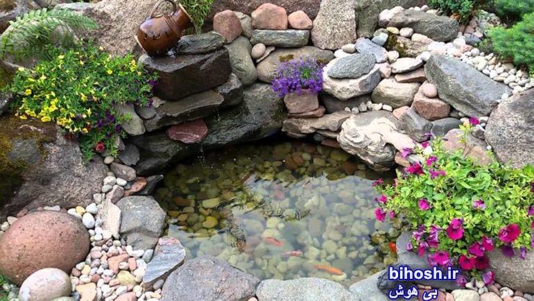 آموزش ساخت حوضچه