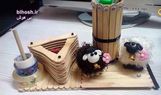 آموزش ساخت جعبه با چوب بستنی به صورت تصویری و گام به گام