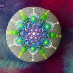 عکس های متنوع نقاشی روی سنگ به همراه آموزش