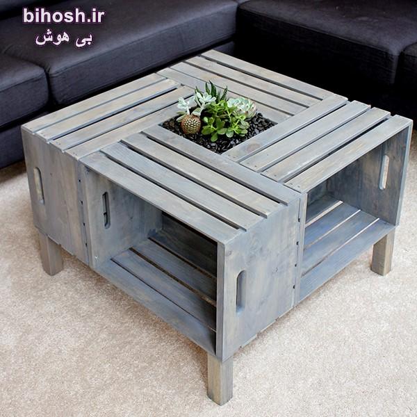ایده های ساخت لوازم دکوری چوبی
