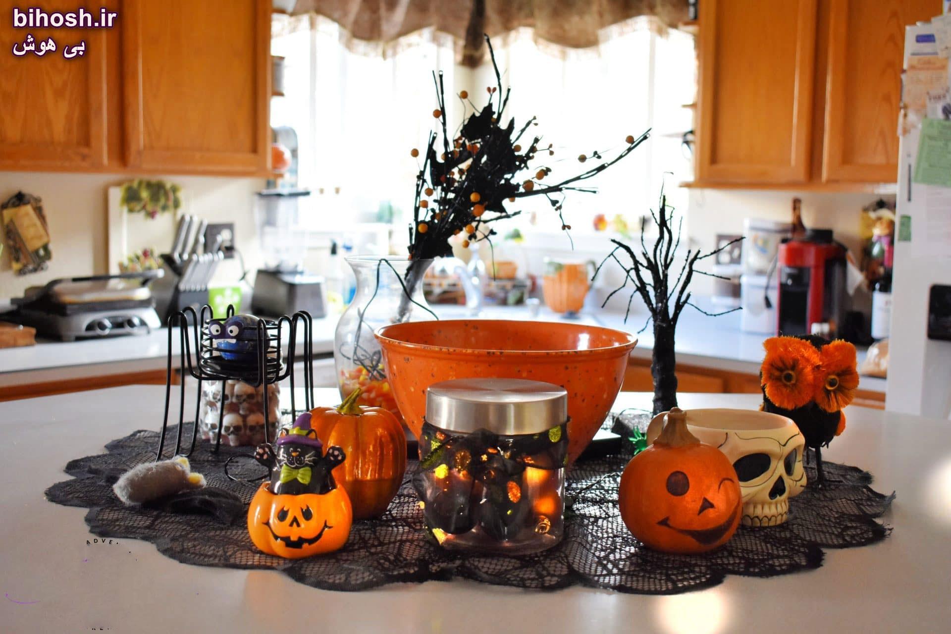 کلی ایده برای جشن هالووین