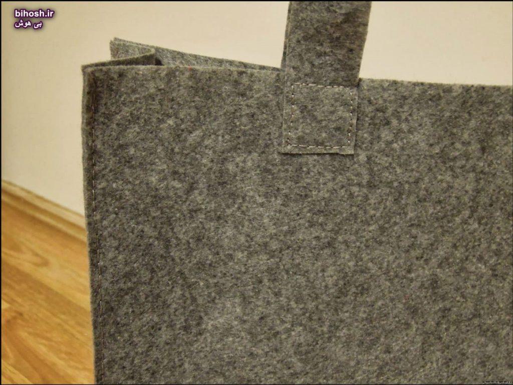 کیف نمدی دخترانه شیک با الگو