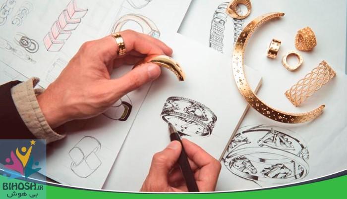 طراحی زیورآلات دست ساز