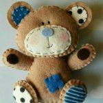 انواع الگو برای ساخت عروسک نمدی