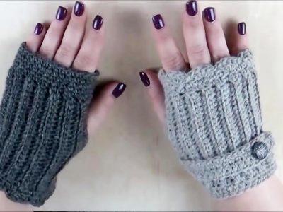 آموزش بافت دستکش بدون انگشت