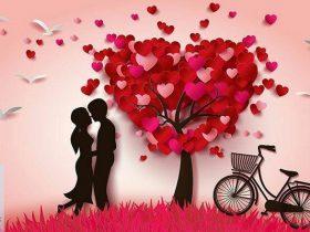 تبریک روز ولنتاین 2021 + عکس