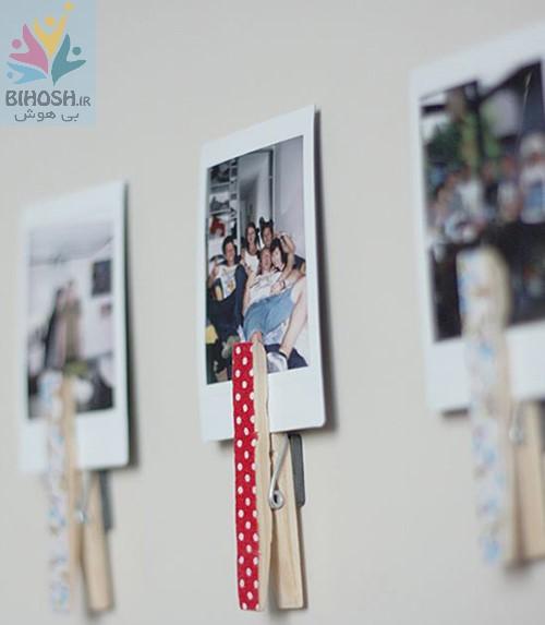 چند ایده برای خوشگلسازی دیوار با عکس ها