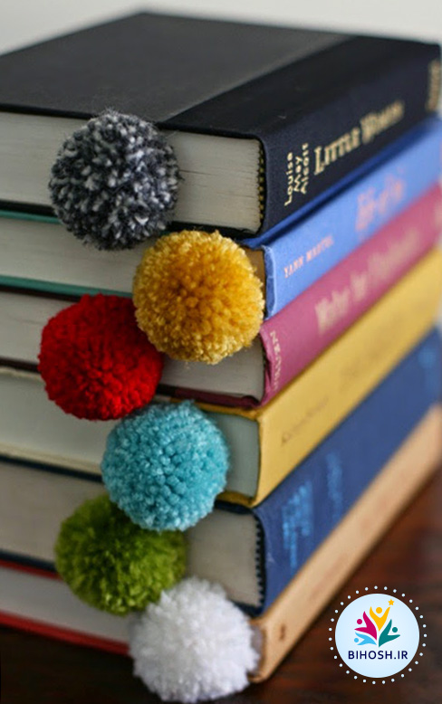 ایده های جالب و خلاقانه برای کاردستی با پوم پوم
