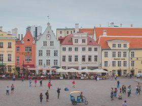تالار شهر تالین پایتخت استونی