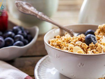 غلات صبحانه یک غذای کامل
