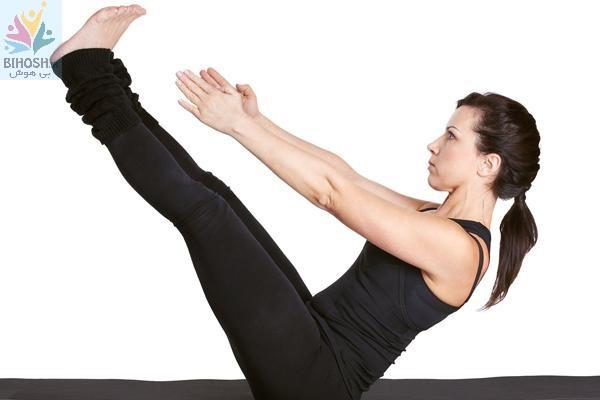 آموزش یوگا در منزل برای لاغری شکم و پهلو
