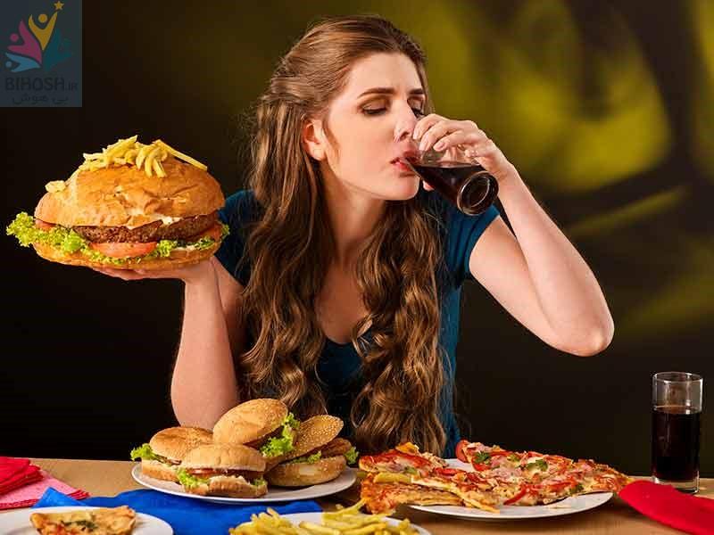 چندین عادت که شما را چاق و بیمار میکنند