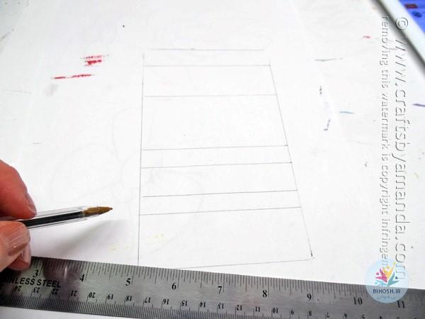 آموزش ساخت دکور موزاییک شیشه ای درخشان