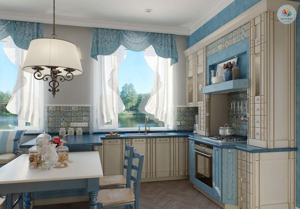 20 مدل زیبا برای پرده آشپزخانه