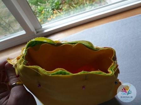 آموزش دوخت کیف آناناسی