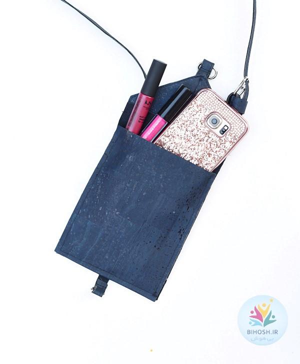 آموزش دوخت کیف موبایل چرمی