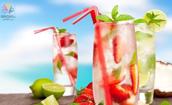 طرز تهیه بهترین نوشیدنی های سرد تابستانه