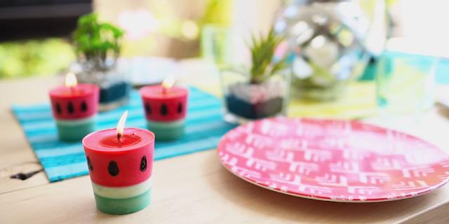 آموزش تصویری شمع سازی خلاقانه و زیبا