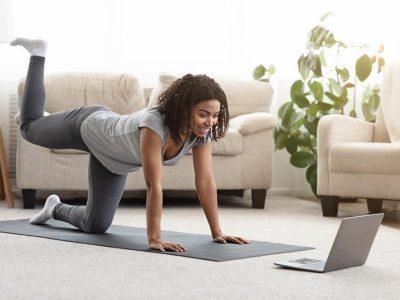 انواح حرکات مناسب ورزش در خانه