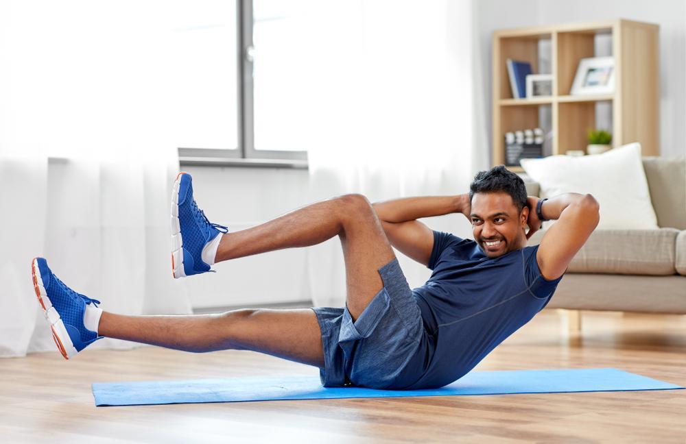 انواع حرکات مناسب ورزش در خانه
