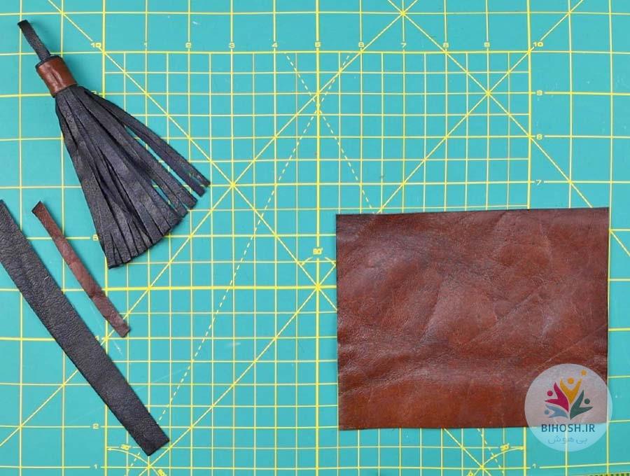 آموزش ساخت منگوله چرمی