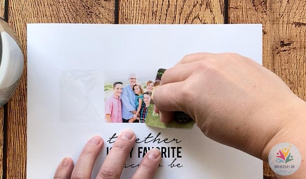 آموزش چاپ عکس روی شمع