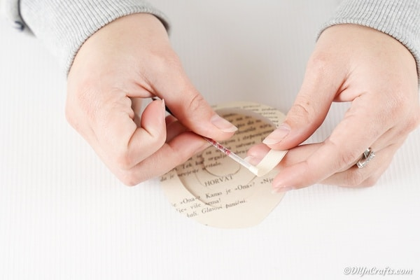 آموزش مرحله به مرحله تاج گل کاغذی