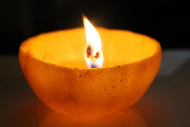 آموزش تصویری شمع آرایی