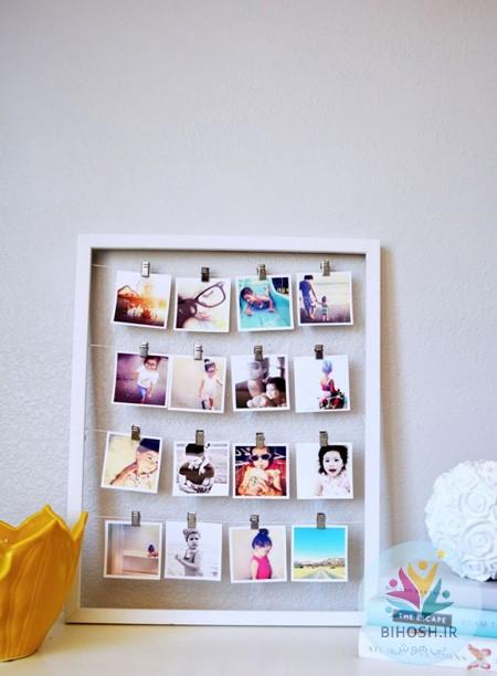 20 ایده برای نمایش عکس