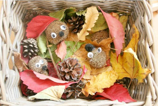 13 کاردستی ساده و جذاب پاییزی