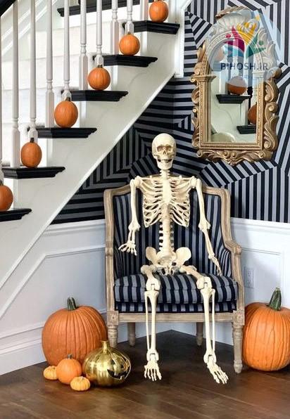 ایده های دکوراسیون منزل در هالووین